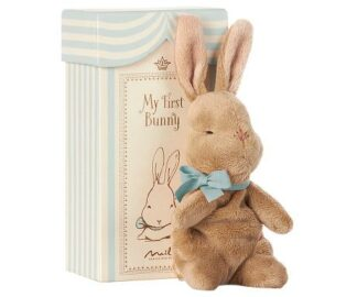 my first bunny in box,blau